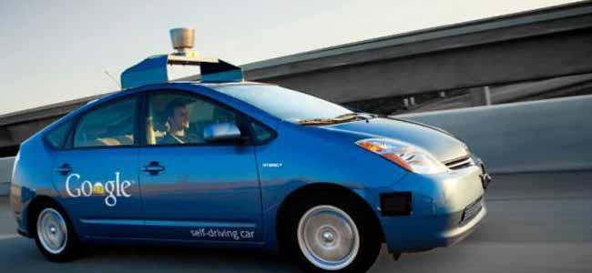 voiture autonome qui se conduit toute seule