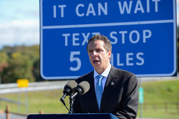Andrew Cuomo campagne It can wait
