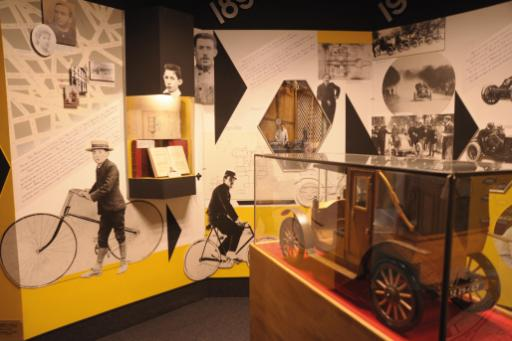 musée Renault intérieur