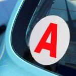 Véhicule d'apprenti conducteur